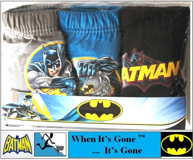 NEW-BATMAN-BRIEFS-PANTS-UNDERWEAR-PYJAMAS-CLOTHING-2-8-YEARS-PICK-FROM-LIST