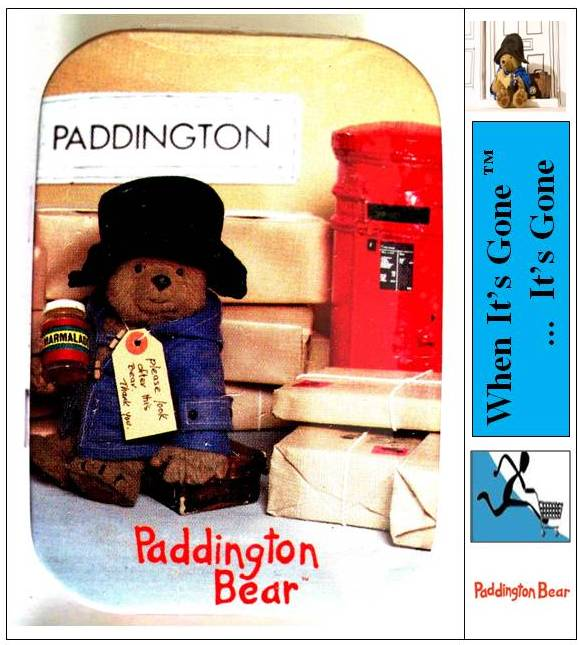 NEW-CUTE-PADDINGTON-BEAR-COLLECTABLE-PEPPERMINT-TINS-SET-OR-PIK-A-TIN