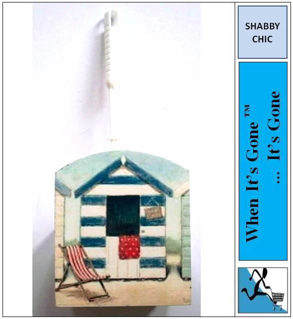SHABBY-NAUTICAL-SEASIDE-BEACH-HUT-TOILET-BRUSH-HOLDER