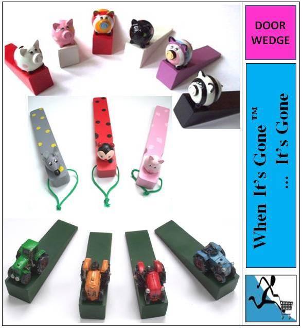 New cute door stop wedge stopper various designs - Cute door stoppers ...