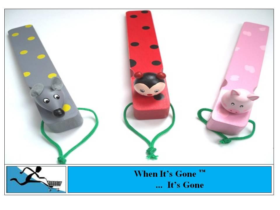 New cute door stop wedge stopper various designs ebay - Cute door stoppers ...