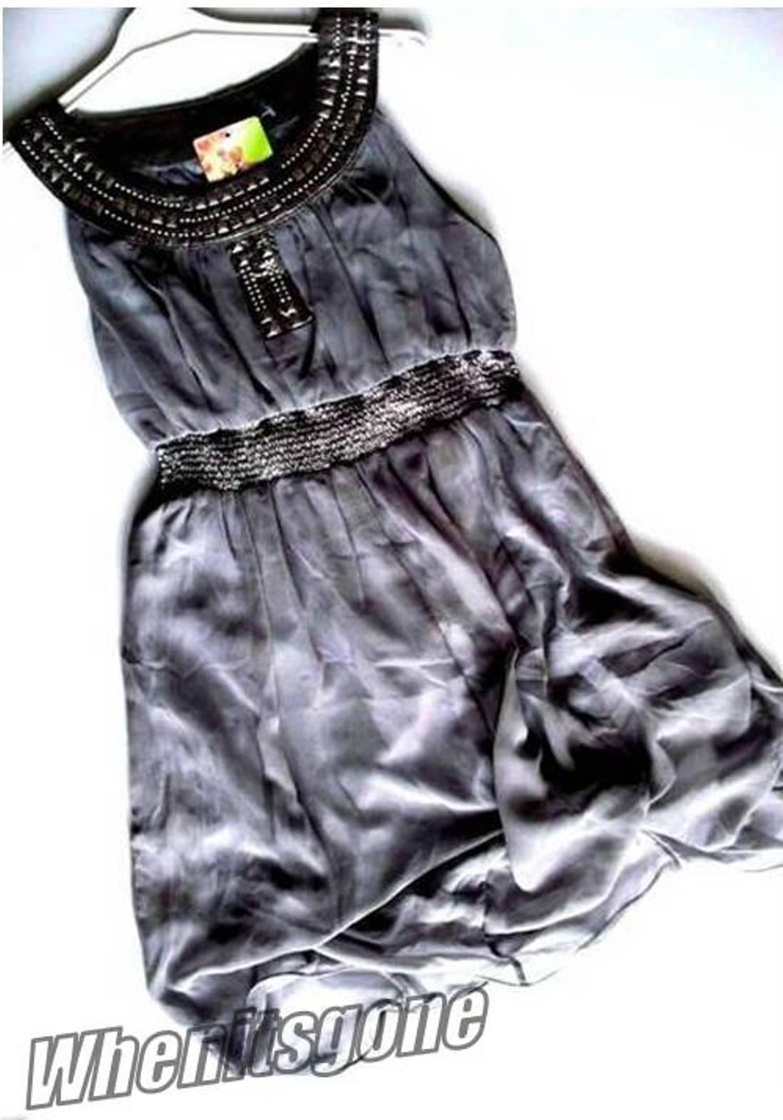 2-14-Years-Girls-Soft-Chiffon-Dress-Outfit-White-Pink-Grey-Purple-Blue-Multi