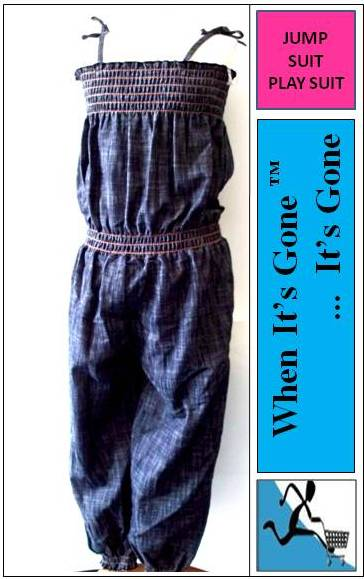 2-14-Years-Soft-Jumpsuit-Full-Length-No-Pattern-Red-Pink-Black-Yellow-Blue-White