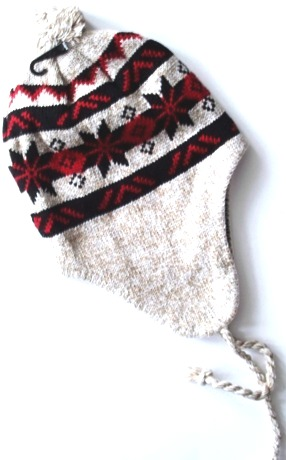 Unisex/Womens/Mens Fair Isle/Inca Winter Trapper Hat Fleece Lined ...